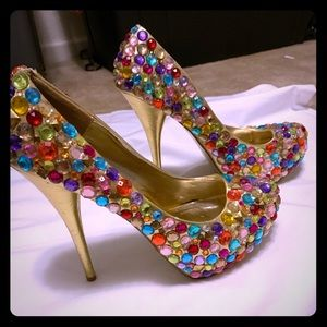 Privileged Gem 5 1/2 inch heels size 11